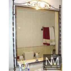 Espejo de Forja de Baño 3