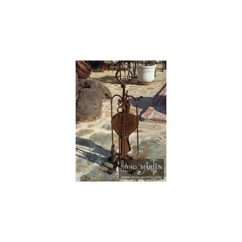 Accesorios de chimenea de forja 3 - Accesorios de chimeneas ...