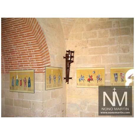 Antorcha de Forja Redonda Monasterio Nª2 de Esquina Sin Tejadillo